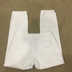 """Madewell White """"Boy"""" Jeans Size 28"""